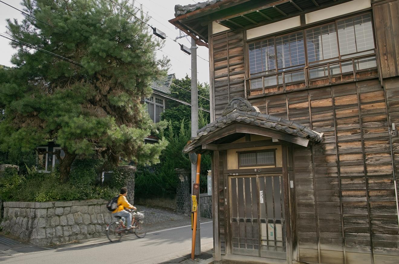 飯田市仲之町の戦前から残る日本家屋