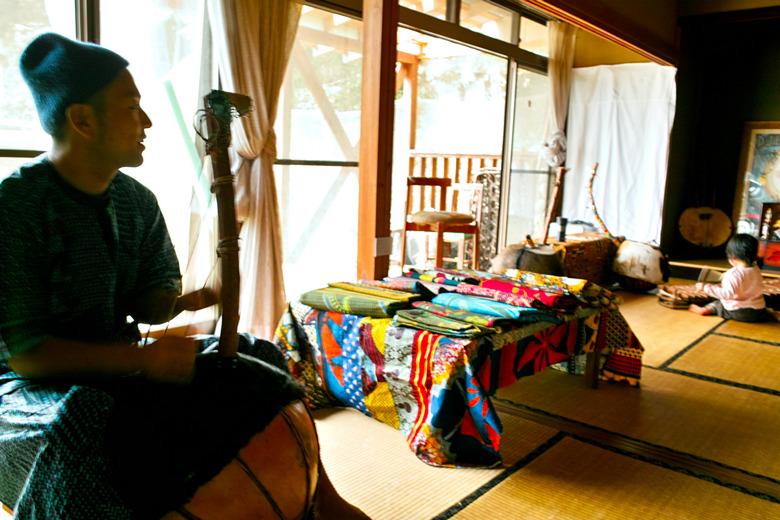 2012年5月1日中川村アーティスト「アトリエ開放展」