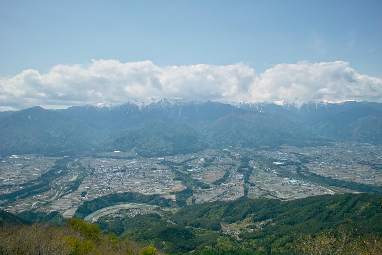 2012年5月11日中川村陣馬形山