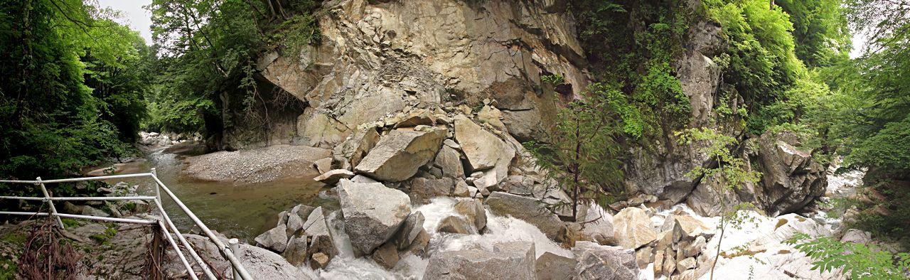 達原渓谷「喉の滝」